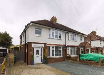 Thumbnail 3 bed semi-detached house for sale in Kendal Road, Longlevens, Gloucester