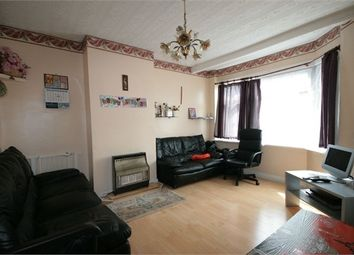 Thumbnail 3 bedroom terraced house to rent in Bridgewater Road, Wembley