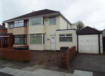 Thumbnail 3 bedroom semi-detached house for sale in 4 Merton Crescent, Huyton, Liverpool