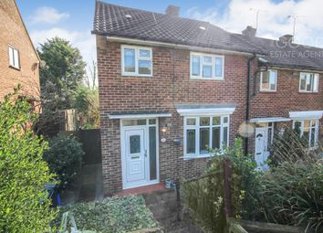 Thumbnail 3 bed end terrace house for sale in Mannock Drive, Loughton