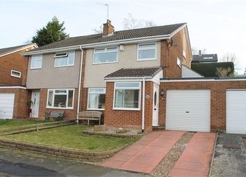 Thumbnail 3 bed semi-detached house for sale in Welton Close, Stocksfield