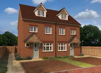 Thumbnail 4 bed semi-detached house for sale in Eaton Green Heights, Kimpton Road, Luton, Bedfordshire