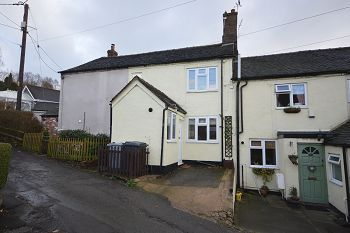 Thumbnail 2 bedroom terraced house to rent in Church Street, Mount Pleasant, Mow Cop