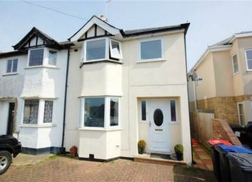 Thumbnail 3 bed semi-detached house for sale in Albion Lane, Herne, Herne Bay, Kent