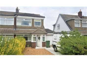 Thumbnail 3 bed semi-detached bungalow for sale in Eaves Lane, St. Helens, Merseyside