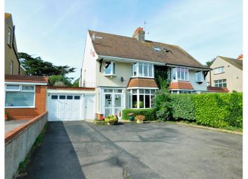 Thumbnail 4 bed semi-detached house for sale in Upper Shoreham Road, Shoreham-By-Sea
