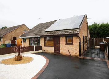 Thumbnail 2 bed semi-detached bungalow for sale in Raithby Drive, Hawkley Hall, Wigan