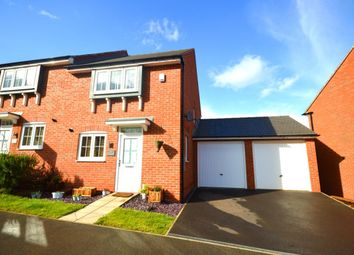 Thumbnail 3 bed semi-detached house for sale in Suffolk Way, Church Gresley, Swadlincote