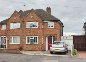 Thumbnail 3 bed semi-detached house for sale in Carlton Drive, Wigston, Leicester