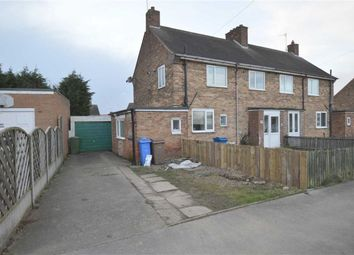 Thumbnail 3 bed semi-detached house for sale in Ebor Avenue, Hornsea, East Yorkshire