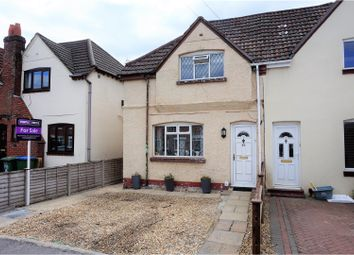 Thumbnail 3 bedroom semi-detached house for sale in Leighton Road, Itchen