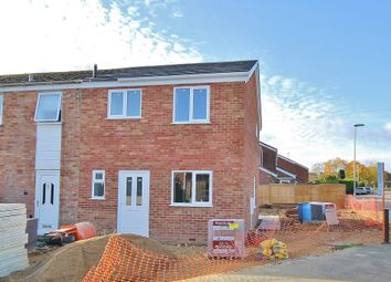 Thumbnail 3 bedroom end terrace house for sale in Stirling Road, St. Ives, Huntingdon