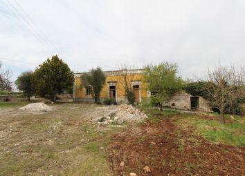 Thumbnail 3 bed farmhouse for sale in Contrada Chiobbica, Ostuni, Brindisi, Puglia, Italy