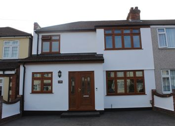 Thumbnail 4 bed end terrace house for sale in Laburnum Avenue, Hornchurch, Essex