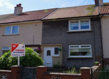 Thumbnail 2 bed terraced house for sale in 25 Stobbs Crescent, Kilwinning