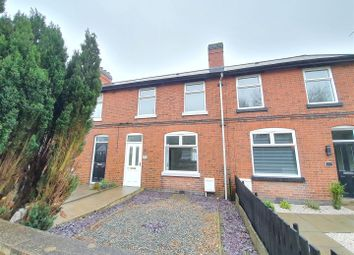 3 bed terraced house for sale in Station Road, Bagworth, Leicestershire LE67