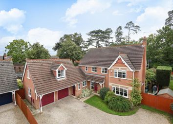 Thumbnail 5 bed detached house for sale in Badgers Glade, Burghfield Common