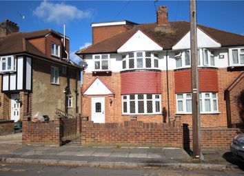 Thumbnail 4 bed semi-detached house for sale in Whitton Manor Road, Isleworth