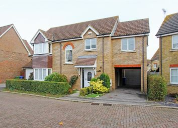 Thumbnail 4 bed detached house for sale in Elm Tree Avenue, Iwade, Sittingbourne