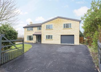 Thumbnail 5 bed detached house for sale in Church Road, Wanborough, Wiltshire