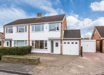 Thumbnail 3 bed semi-detached house for sale in St Aidans Close, Bletchley, Milton Keynes