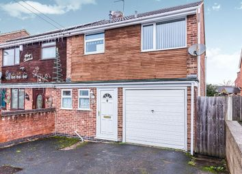 Thumbnail 3 bed semi-detached house to rent in Beards Road, Newhall, Swadlincote