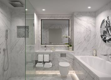 Thumbnail 1 bed flat for sale in Versace Building, London