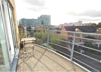 Thumbnail 1 bed flat to rent in Glaisher Street, Millennium Quay, London