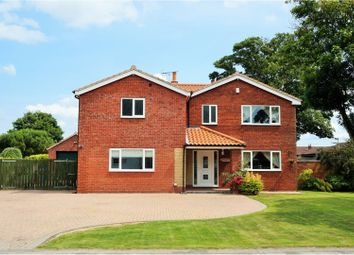 Thumbnail 5 bed detached house for sale in Garton Road, Aldbrough, Hull