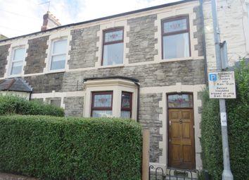 Thumbnail 3 bed terraced house for sale in Longcross Street, Roath, Cardiff