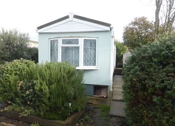 Thumbnail 1 bed mobile/park home for sale in Wey Avenue, Penton Park, Chertsey