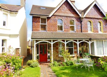 Thumbnail 3 bed flat for sale in First Floor Flat, 108 Willingdon Road, Eastbourne
