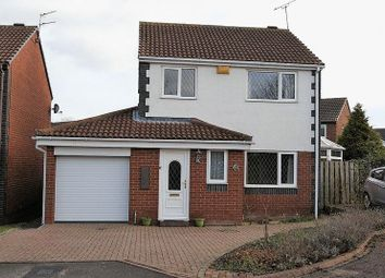 Thumbnail 3 bed detached house for sale in Garleigh Close, Killingworth, Newcastle Upon Tyne