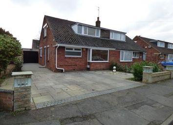 Thumbnail 2 bed semi-detached house for sale in Westerlong, Lea, Preston, Lancashire