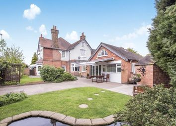 Thumbnail 4 bed detached house for sale in Lutterworth Road, Blaby, Leicester, Leicestershire