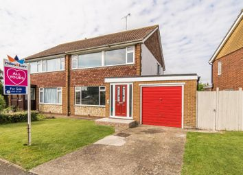 Thumbnail 3 bedroom semi-detached house for sale in Kite Farm, Whitstable