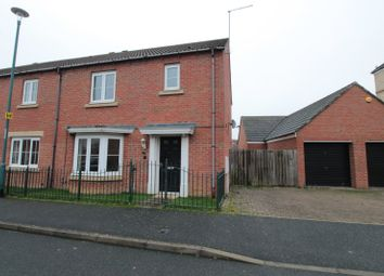 Thumbnail 3 bed semi-detached house for sale in Bakewell Mews, Darlington