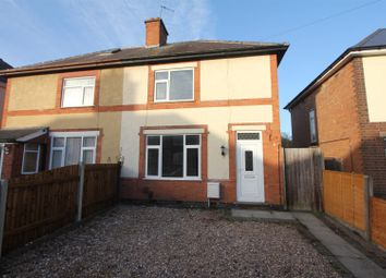 Thumbnail 2 bed semi-detached house for sale in Earl Street, Earl Shilton, Leicester