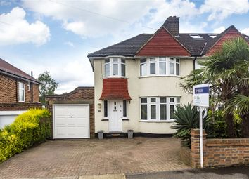 Thumbnail 3 bedroom semi-detached house for sale in Waverley Avenue, Surbiton