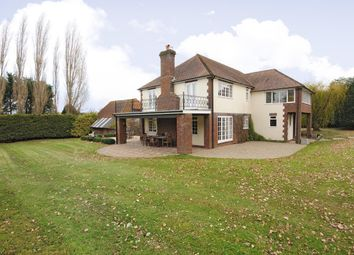 Thumbnail 4 bed detached house to rent in Mill Lane, Crondall, Farnham