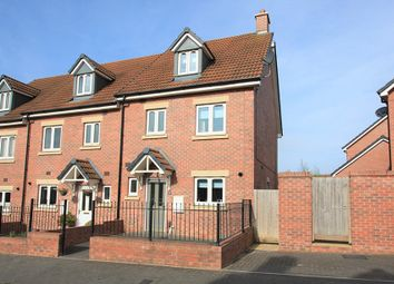 Thumbnail 4 bed town house for sale in Malone Avenue, Swindon