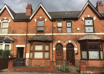 Thumbnail 3 bed terraced house to rent in Hampton Road, Aston, Birmingham