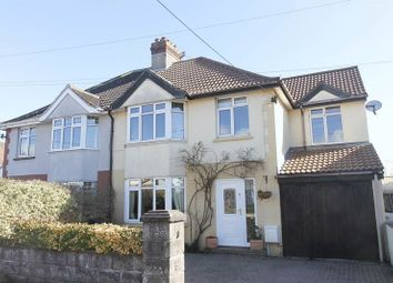 Thumbnail 4 bed semi-detached house for sale in Coleridge Vale Road North, Clevedon