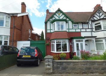 Thumbnail 4 bed semi-detached house for sale in Willow Avenue, Edgbaston, Birmingham