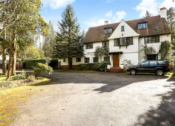 Thumbnail 5 bed detached house for sale in West Drive, Virginia Water, Surrey