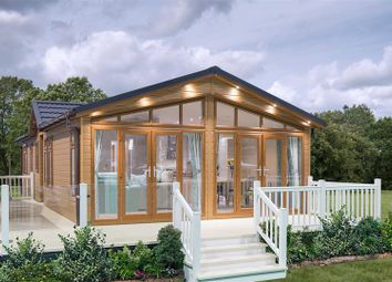 Thumbnail 3 bed lodge for sale in Cliff Lane, Marston, Grantham