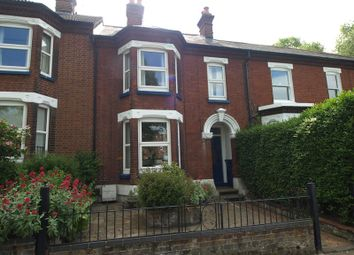 Thumbnail 3 bed terraced house to rent in Constitution Hill, Norwich
