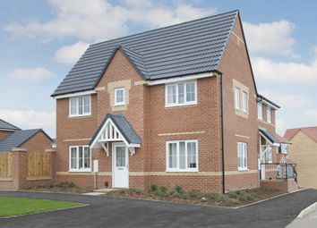 "Thumbnail 3 bed semi-detached house for sale in ""Morpeth 2"" at Carters Lane, Kiln Farm, Milton Keynes"