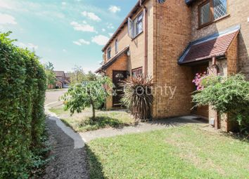 Thumbnail 2 bed terraced house for sale in Martinsbridge, Parnwell, Peterborough