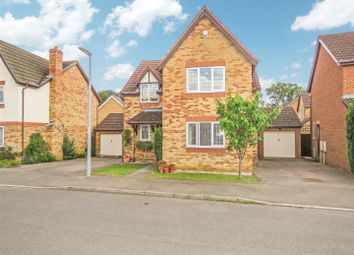 Thumbnail 4 bed detached house for sale in Murrell Close, St. Neots
